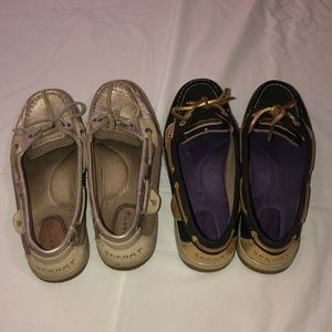 2 pairs of SPERRYS